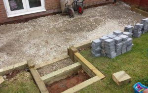 Once The Base Is Ready, We Start To Lay Your New Paving On A Solid 50mm  Mortar Bed. We Donu0027t Cut Corners By Laying The Slabs On Spots Of Mortar, ...